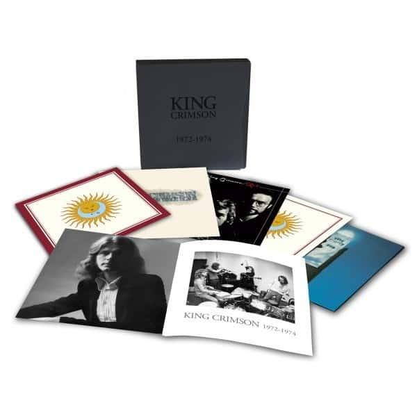 Coffret vinyle King Crimson 1972-74