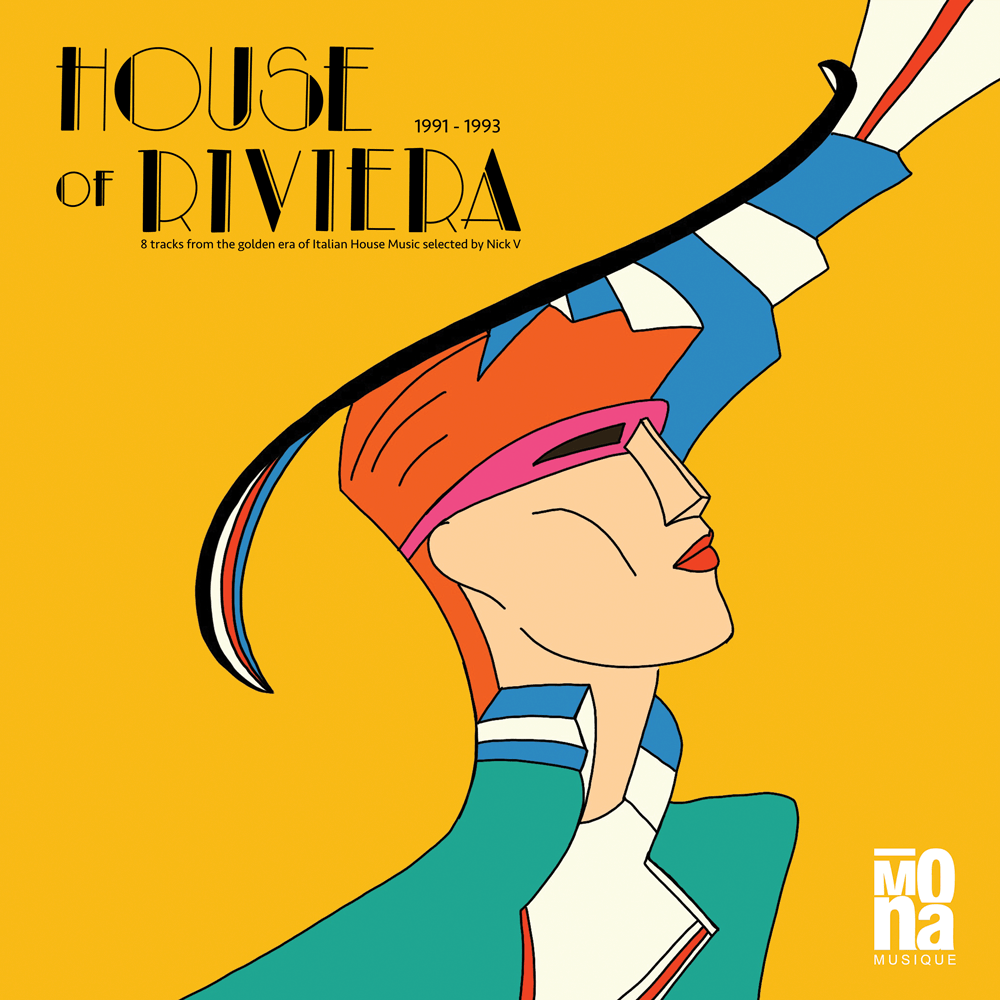 House of Riviera LP Compilation vinyl
