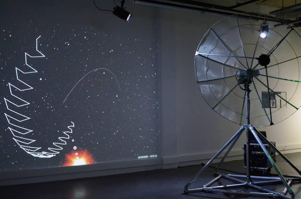 Sculptures radio cosmiques