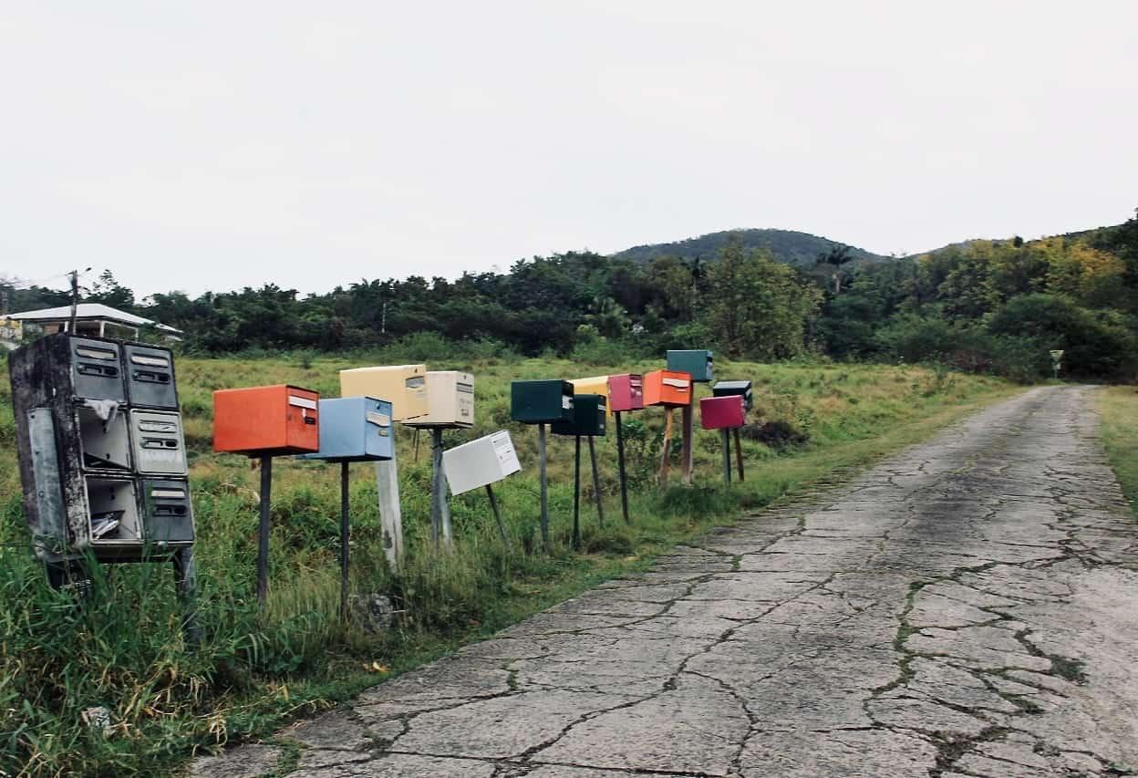 Boîtes aux lettres en Guadeloupe