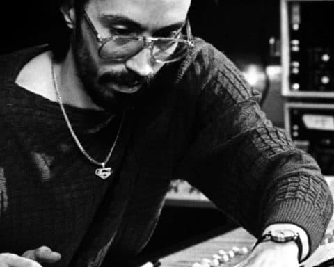 John Morales en studio