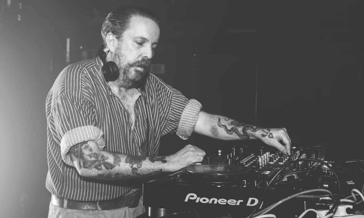 Andrew Weatherall playing in 2016