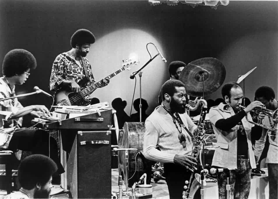 Herbie Hancock et son groupe Mwandishi en 1971
