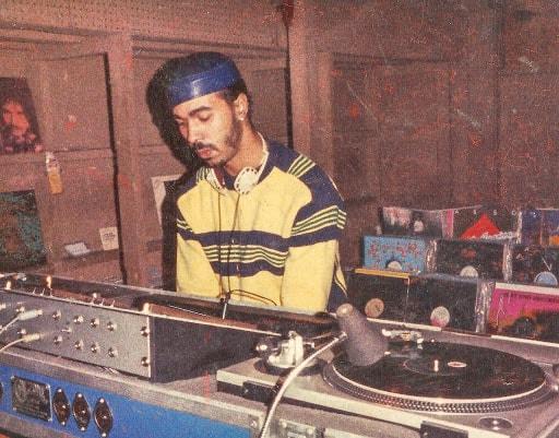 portrait du dj Ron Hardy, l'un des pionniers de la house music de Chicago