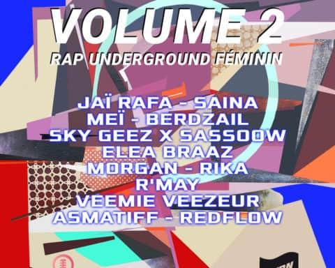 Compilation Rap Underground Féminin VOLUME 2