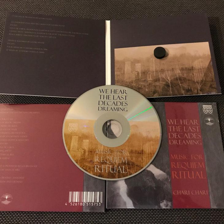 Artwrok de l'album We hear the last decades dreaming de Chari Chari
