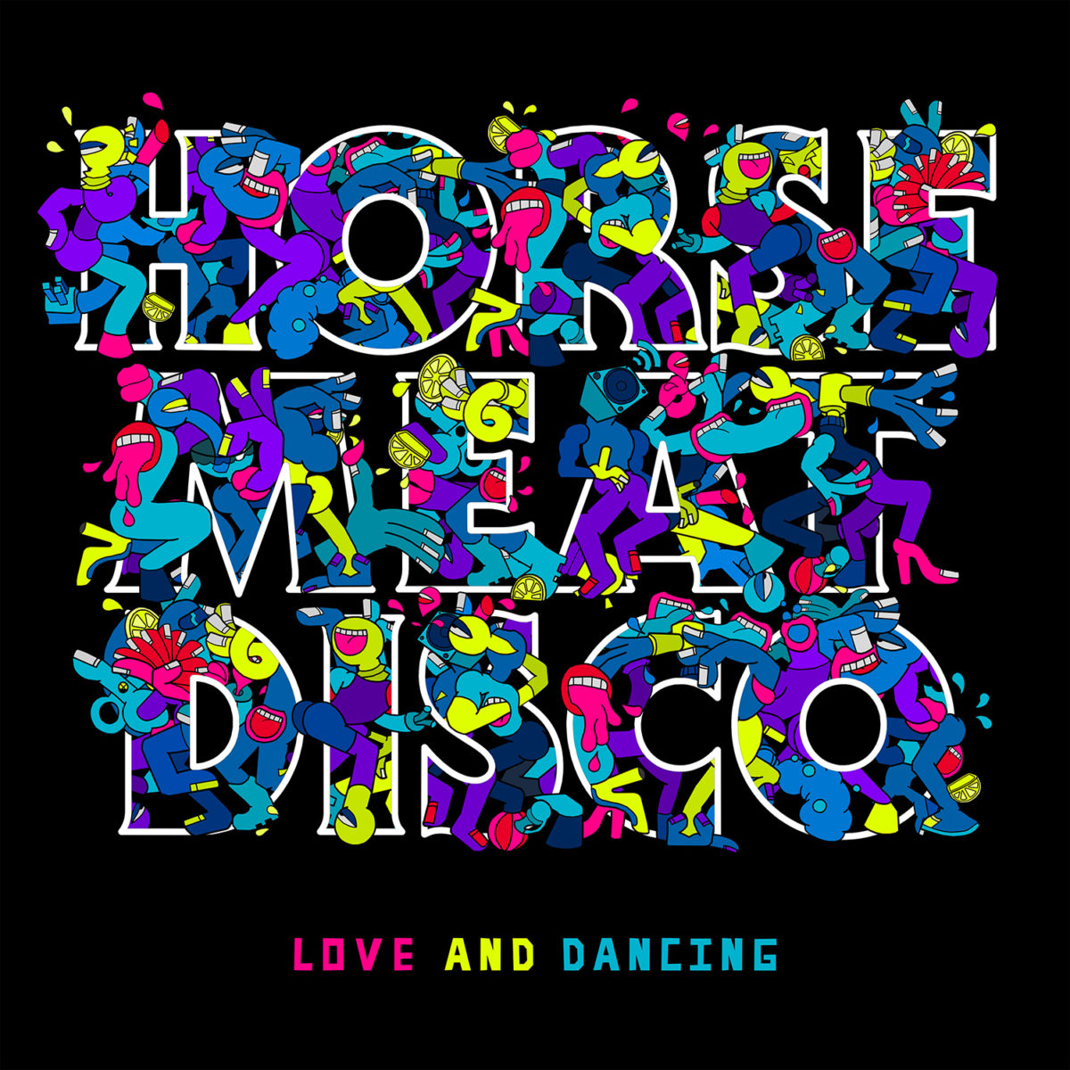 Artwork de Love & Dancing, l'album de Horse Meat Disco