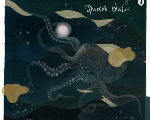 Artwork de l'EP Purest Blue de l'artiste Emotional Ty