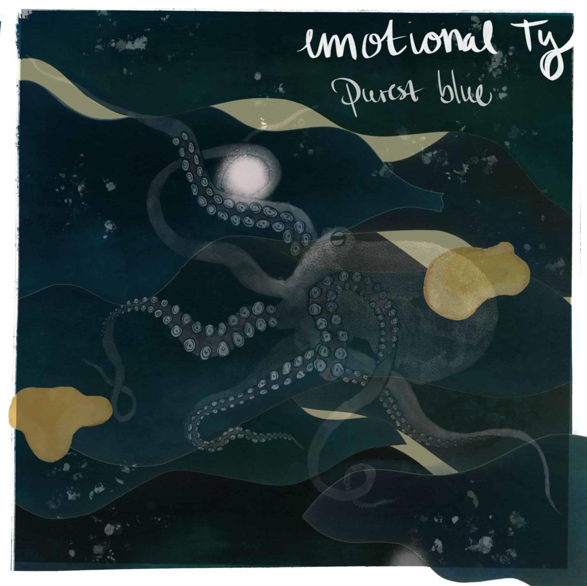 Artwork de l'EP Purest Blue de l'artiste Emotional Ty
