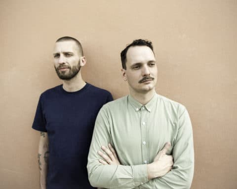 Portrait du duo Dam Swindle