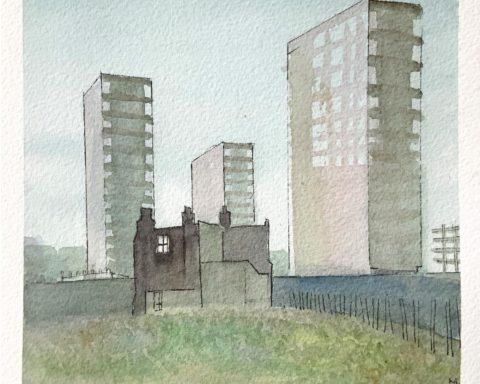 The City's artwork, by Session Victim & Erobique /w Jamie Lloyd