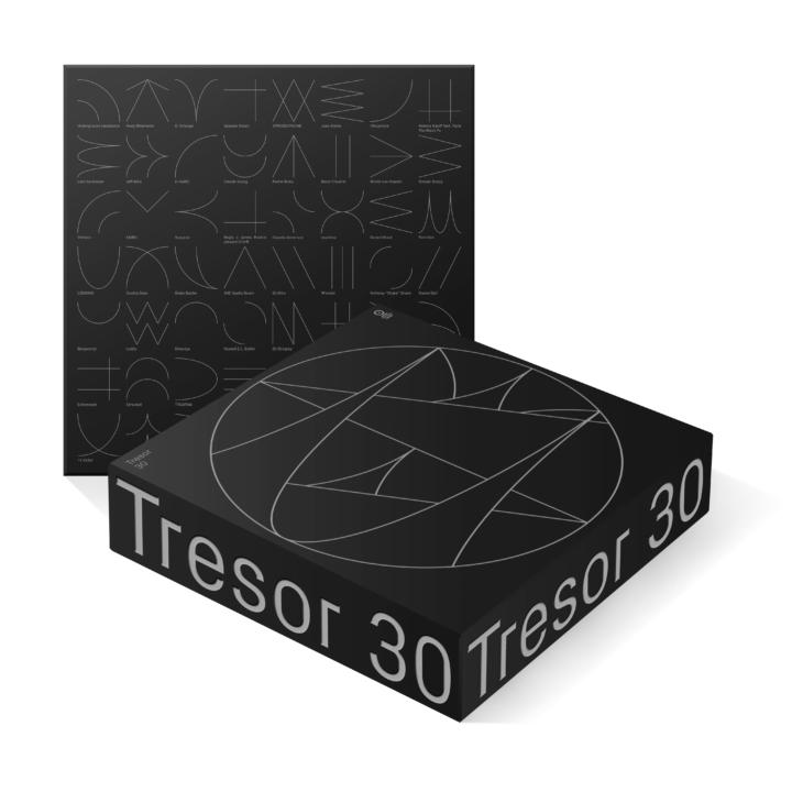 Artwork Box compilation TRESOR 30