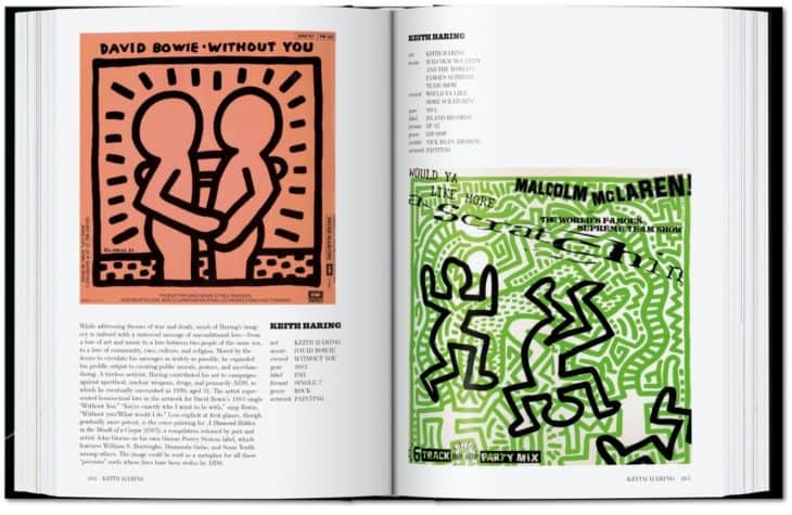 David Bowie, Keith Haring - Art Record Covers 40th Ed